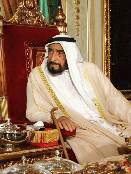 Photograph: The Judgment Debtor, the Late Sheikh Zayed bin Sultan Al Nahyan, Former UAE President and Ruler of Abu Dhabi Emirate