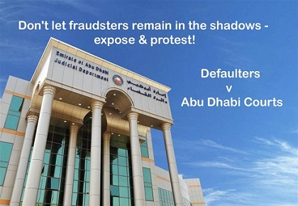 Unique is the case of 'Judgment Creditor'; disgracefully the perpetrator is the 'Executive Branch of Abu Dhabi, United Arab Emirates'