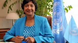 Interview with the High Commissioner for Human Rights, Navi Pillay