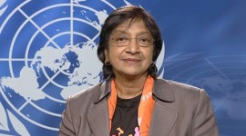 About Navi Pillay, the UN's High Commissioner for Human Rights