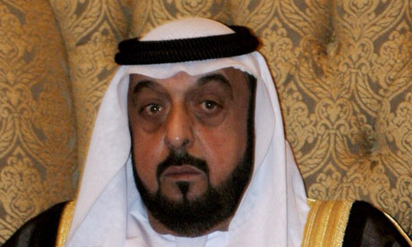 Sheikh Khalifa bin Zayed Al Nahayan, president of the United Arab Emirates